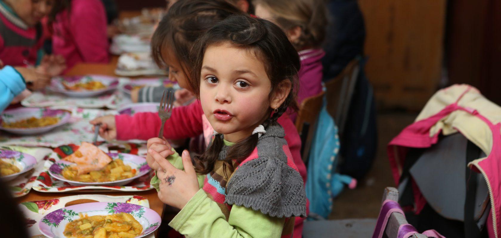 Romanian child