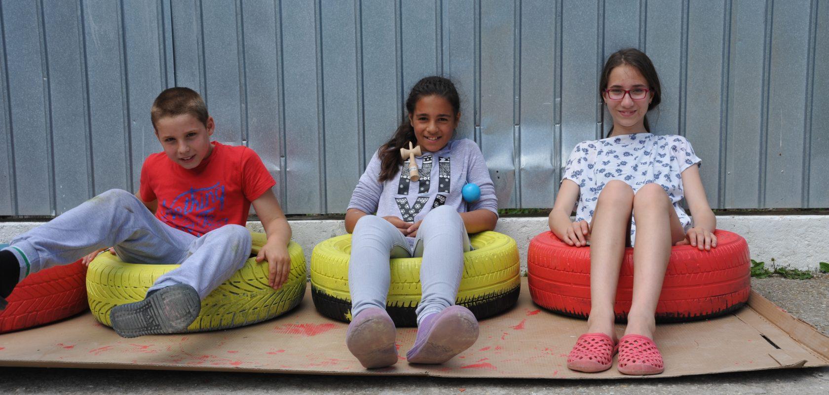 Three children from the FARA programmes