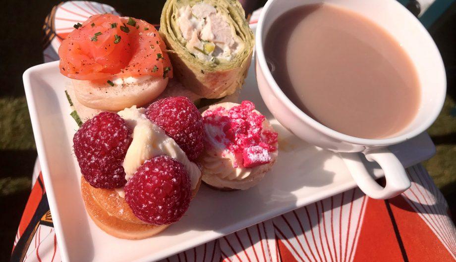 Tea at Buckingham Palace