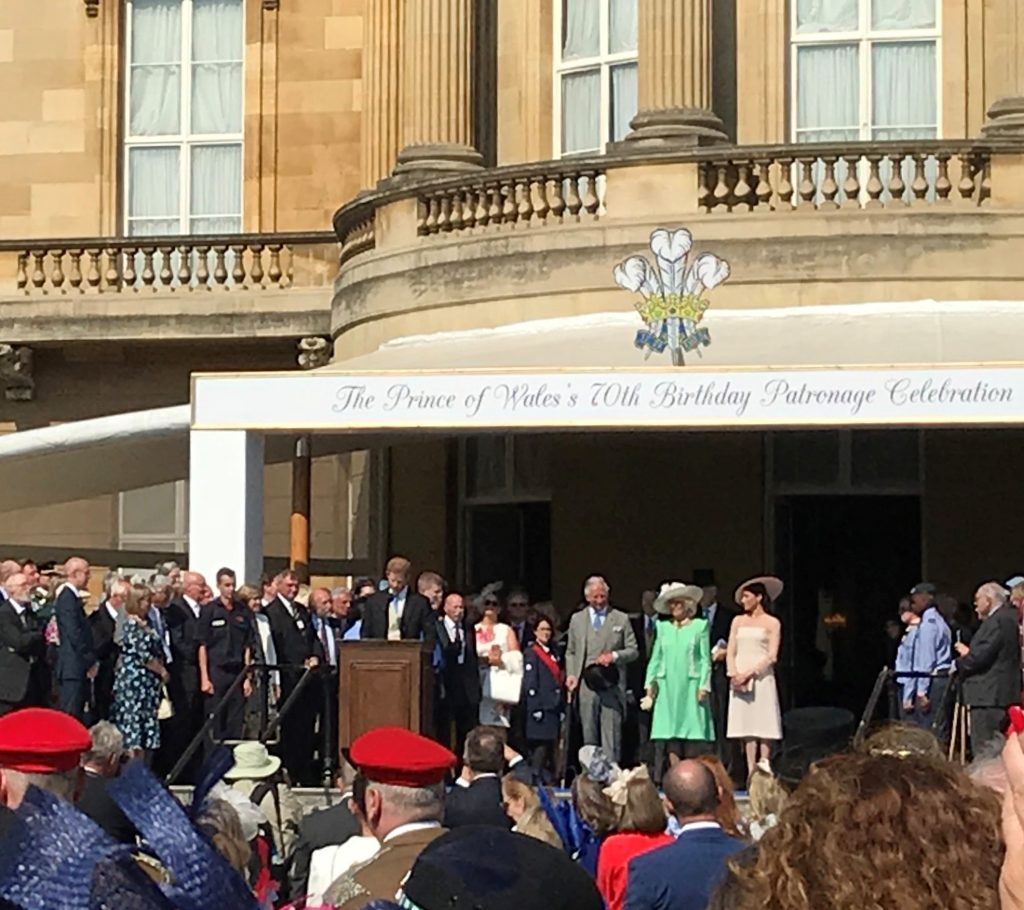 HRH The Prince of Wales at Buckingham Palace