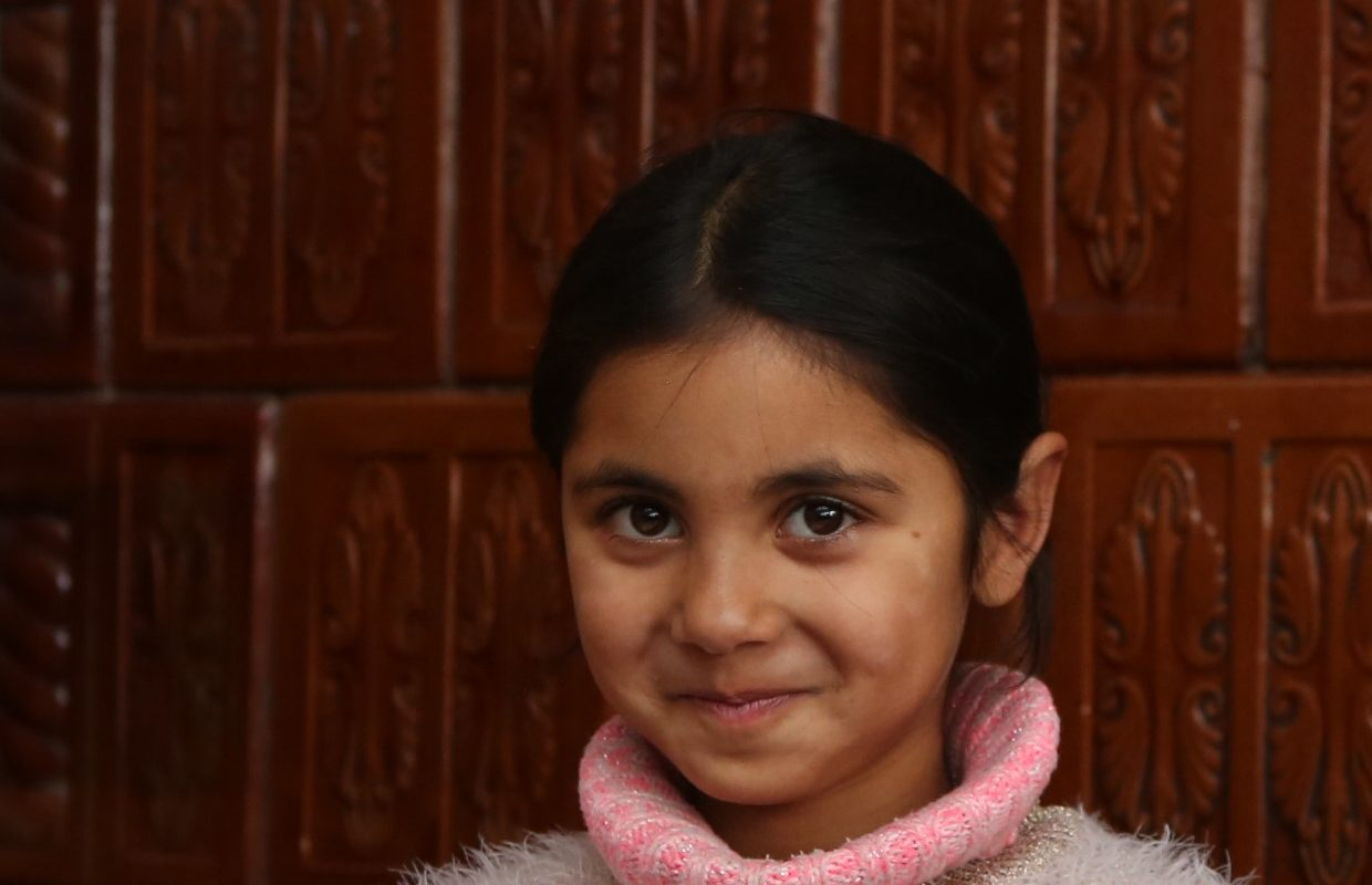 A Romanian girl on the Tackling Poverty Through Education programme