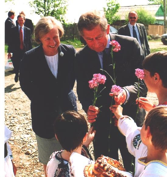 HRH The Prince of Wales visits Oat Farm
