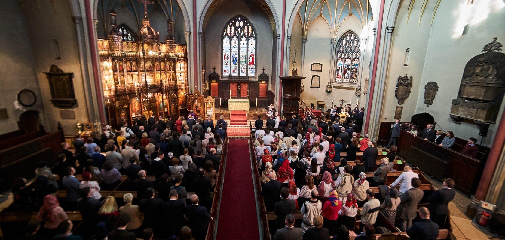 Romanian Orthodox Church service London