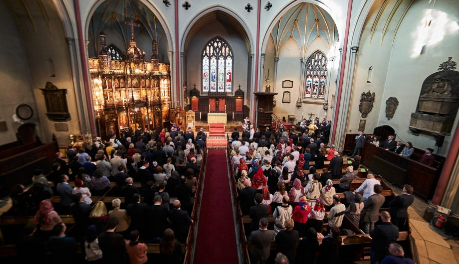 Romanian Orthodox Church service London