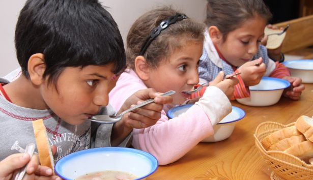 FARA supports children with a hot school lunch